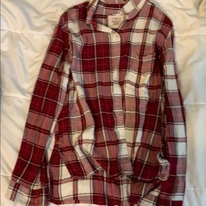 SO brand flannel top